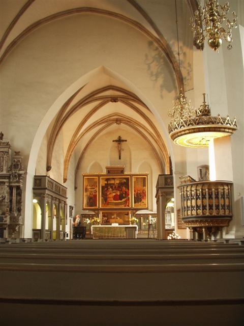 Interior of the Marienkirche