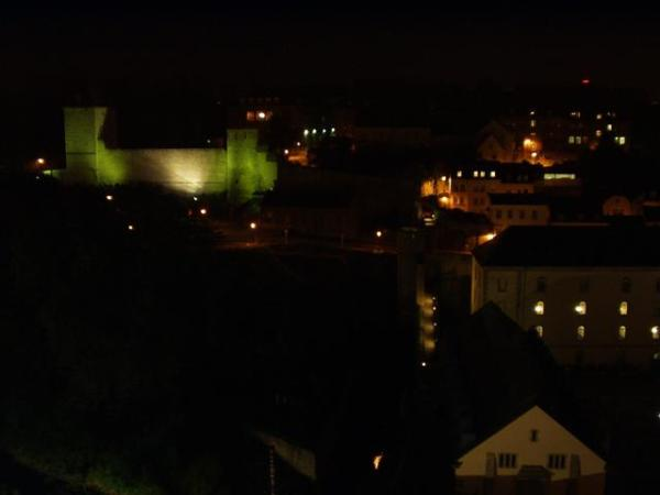 City Fortifications at Night