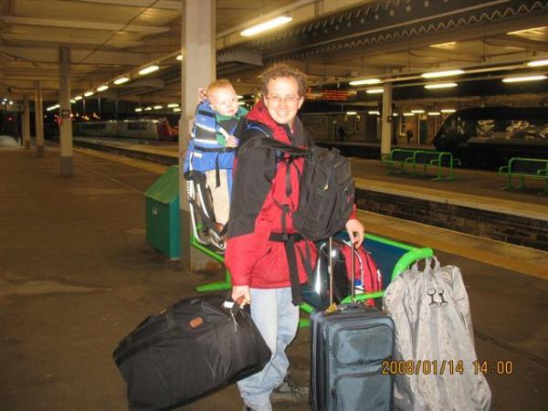 Extra toddler baggage